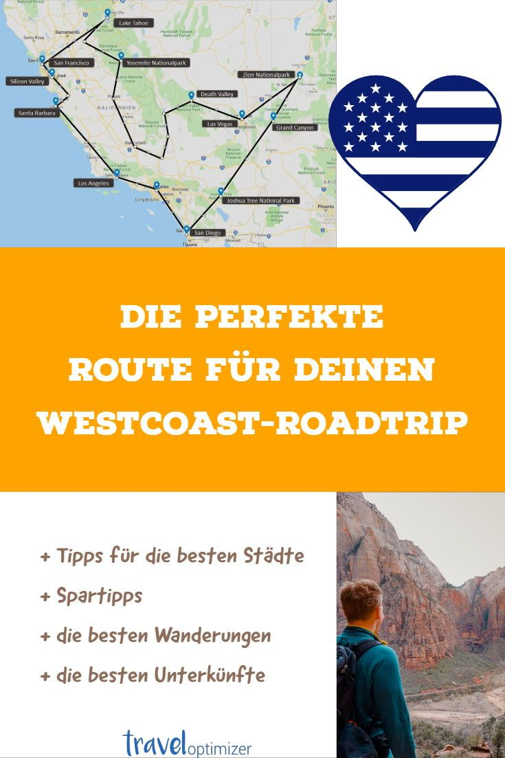 Usa Westkuste 3 Wochen Roadtrip Inkl Route Kosten Tipps Roadtrip Amerika Urlaub Usa Reise