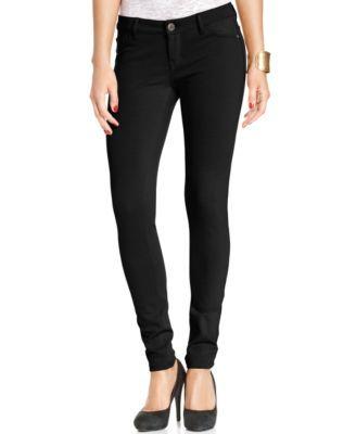 Celebrity Pink Jeans Juniors' Skinny Ponte-Knit Pants