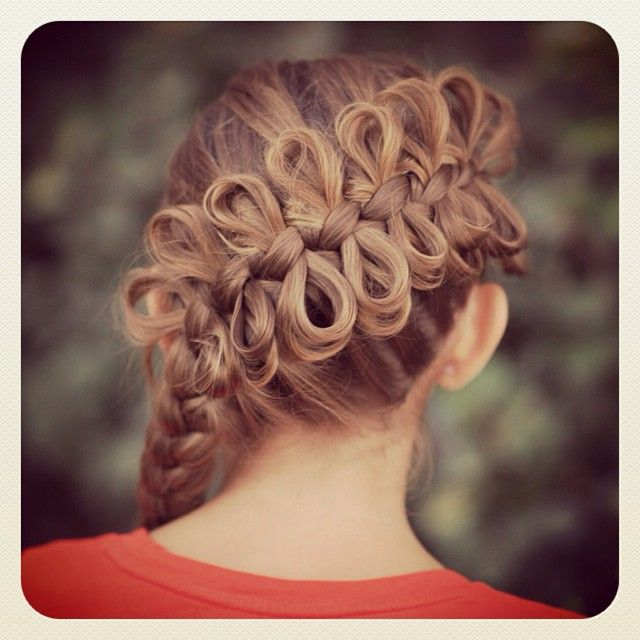 Hairstyles For Long Hair Cgh : ... Hair Styles, Cute Girls Hairstyles, Braids, Girl Hairstyles, Bows, Bow