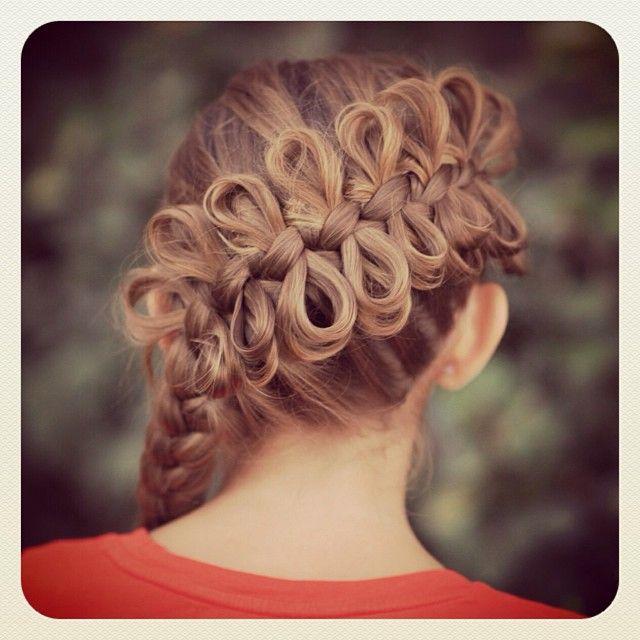 Strange Bow Braid Braid Tutorials And Braids On Pinterest Hairstyles For Women Draintrainus