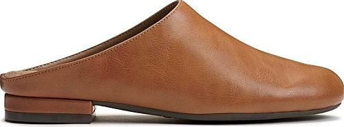 A2 by Aerosoles Women's Shoes in Dark Tan Color. The relax feel of just before bed with day-to-day functionality in the Good Night Mule by A2 from Aerosoles.