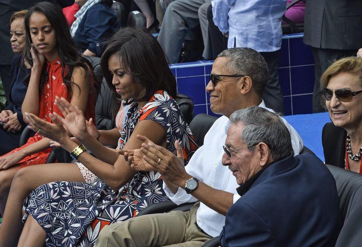 Michelle Obama Vacation Dresses | POPSUGAR Fashion