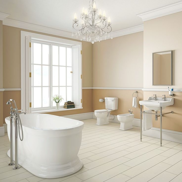 Traditional Park Royal Freestanding Complete Bathroom Suite
