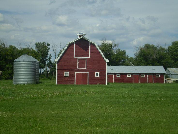 Lone Red Barn