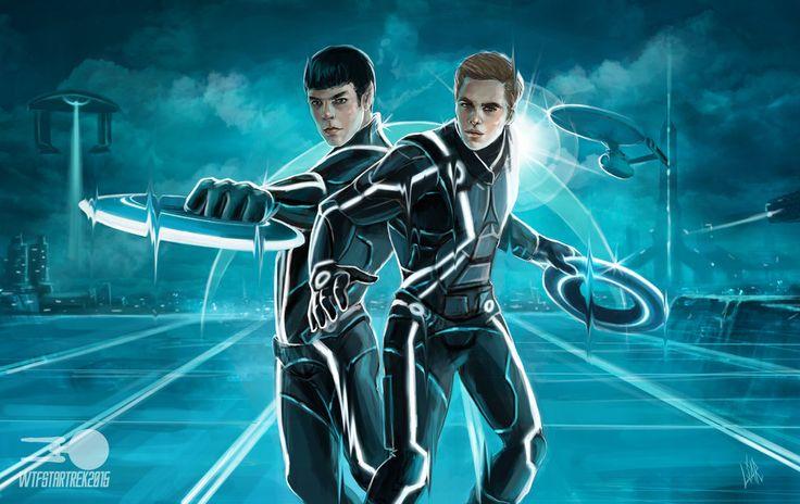 Star Trek: Legacy by MisterLIAR.deviantart.com on @DeviantArt