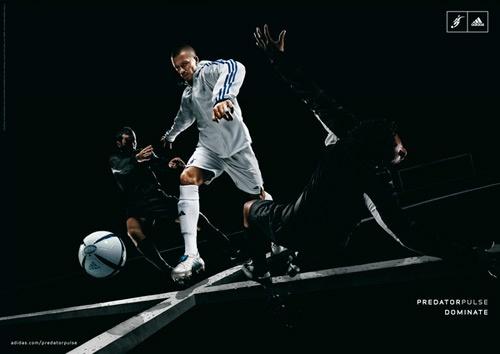 Adidas...I mean, Beckham...no, soccer!
