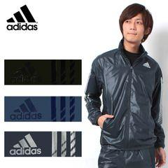 アディダスウィンドブレーカーadidasメンズadidasbraveウィンドジャケット&パンツブラック他2色2014年モデルADIDASDDU03DDU04アディダスブレイブ上下セット男性用トレーニングウェア
