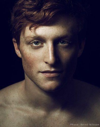 #ginger #men Philip Rosenberg, acrobat and circus performer