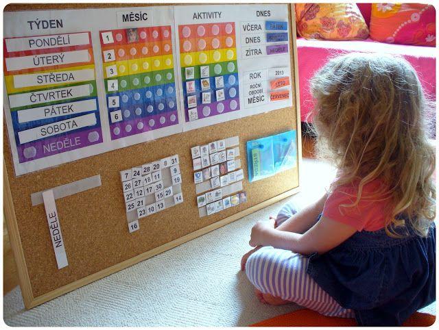 Doma s Montessori: Vyrobte si vlastní kalendář!