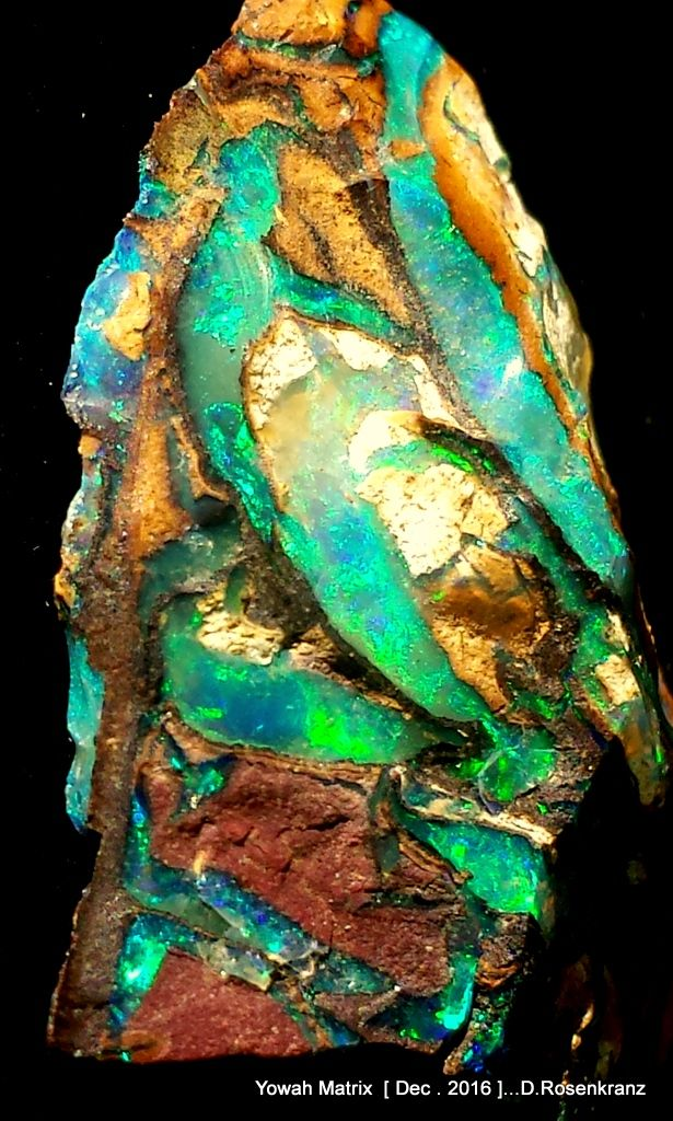 Matrix from the Yowah Opal field , Queensland , Australia .[Dec. 2016 ]