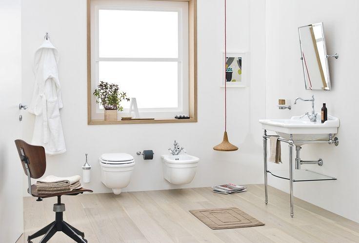 The.Artceram Hermitage bathroom collection #sanitaryware #bathtub  #ceramics #design #madeinitaly #bagno  #washbasin #consolle