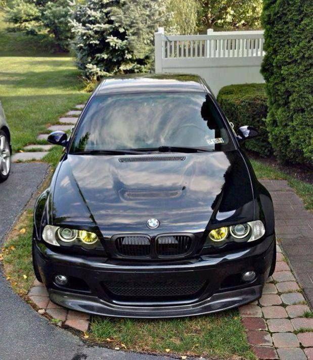 Bmw m3 e46 modified black