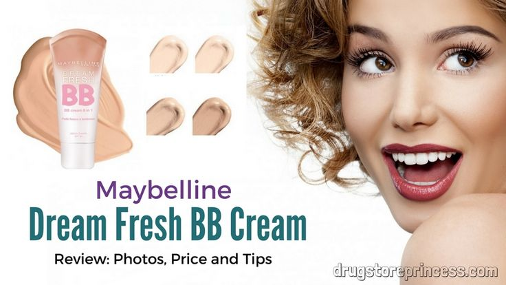 MAYBELLINE DREAM FRESH BB CREAM REVIEW: PHOTOS, PRICE AND APPLICATION #maybelline #dreamfresh #bbcream #review #tips #makeup #foundation #grudstoreprincess