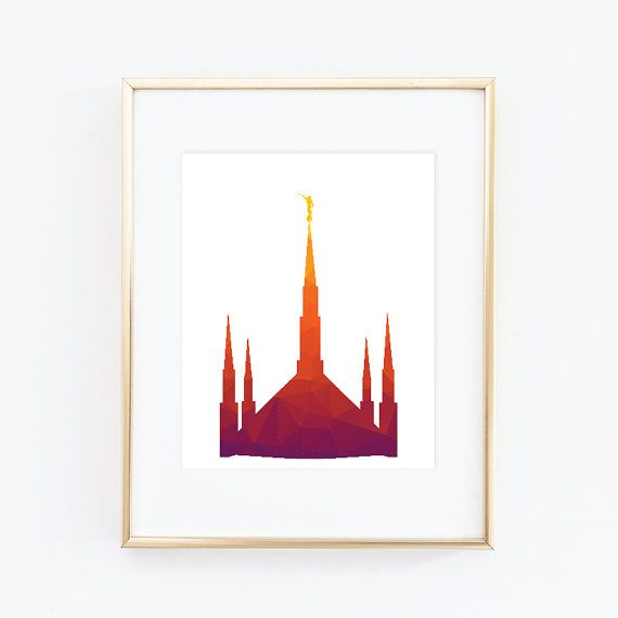 Boise Temple LDS Temples House of the Lord LDS by QuotableStuff