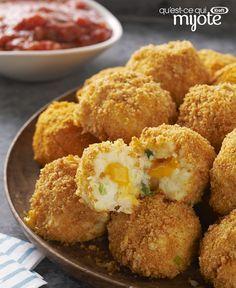 Bouchées de pommes de terre Velveeta #recette