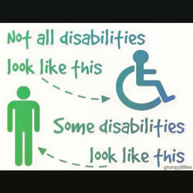Invisible illness / Invisible disability / invisible disabilities