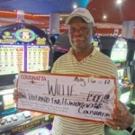 Congratulations to Willie from Texas––on August 16 he won $1,500 playing a Five Times Pay slot game!