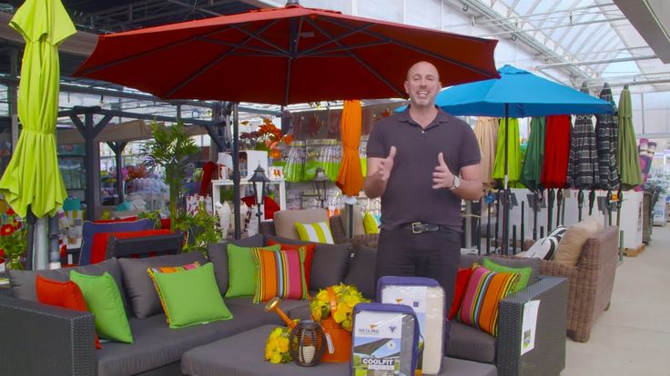 HGTV's Outdoor Lifestyle Expert Carson Arthur along with TERRA talks about how to create shade in your outdoor space!