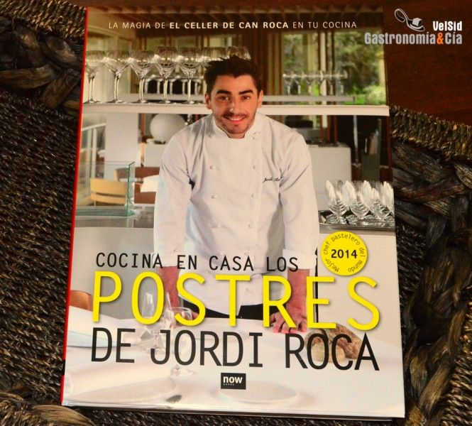 #libros #cocina Cocina en Casa los Postres de Jordi Roca