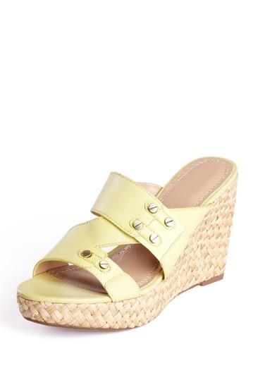 Adrienne Vittadini Carlene Wedge Sandal by We Love Wedges on @HauteLook