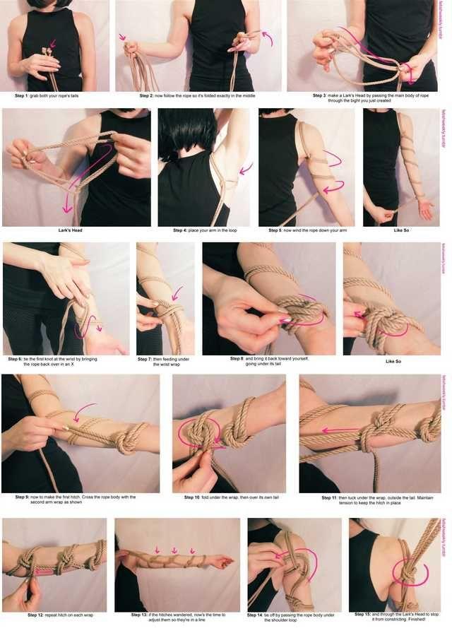 bondage tutorial gothic sm