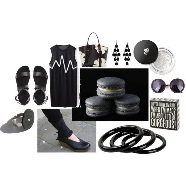 thrusday 03 by anna-suchodolska on Polyvore featuring Alexander McQueen, Furla, Forever New, Lancôme and Primitives By Kathy