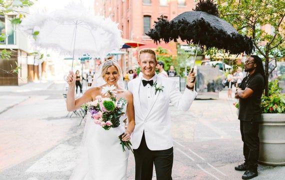 Second Line Wedding Umbrellas Etsy In 2020 Umbrella Wedding Second Line Parade Wedding