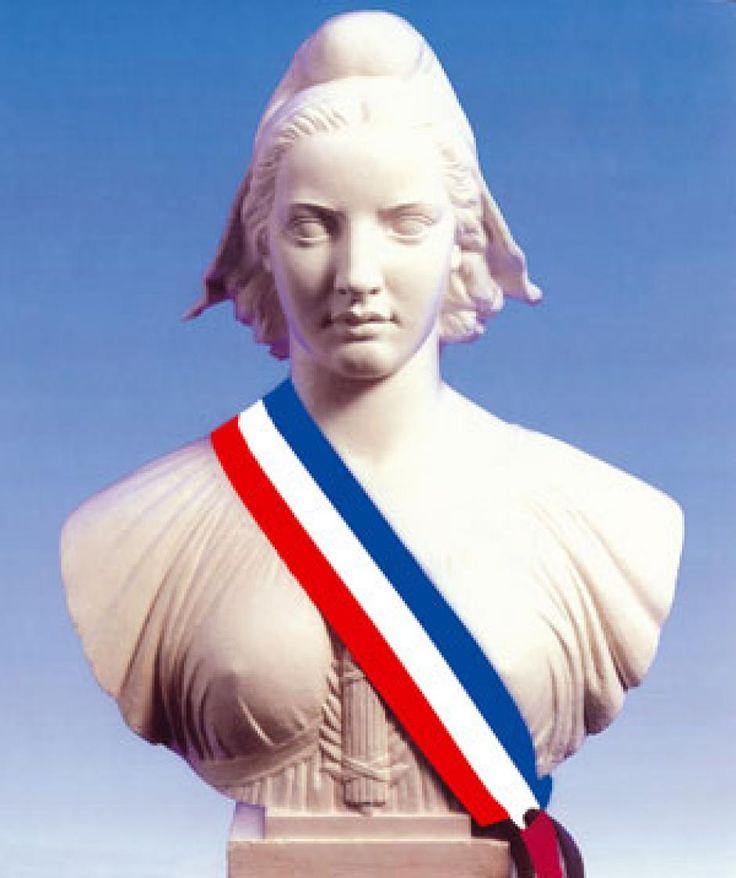 Marianne est une figure allégorique de la République française. Sous l'apparence d'une femme coiffée d'un bonnet phrygien, Marianne incarne la République française et ses valeurs contenues dans la devise : « Liberté, Égalité, Fraternité ». Marianne est un important symbole républicain et une icône de la liberté et de la démocratie...........SOURCE BING IMAGES..........