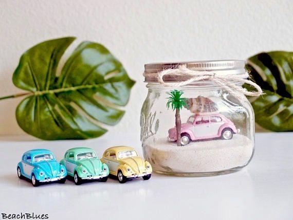 Tropical / decoración dormitorio / VW Bug / WV escarabajo /