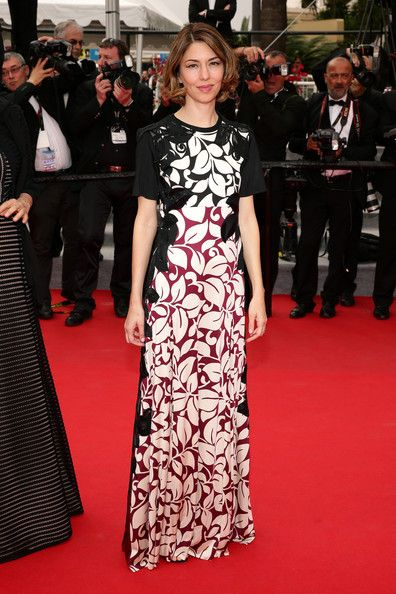 Jury Member Sofia Coppola attends the red carpet for the Palme D'Or winners at the 67th Annual Cannes Film Festival on May 25, 2014 in Canne...