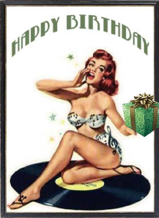 pin up joyeux anniversaire