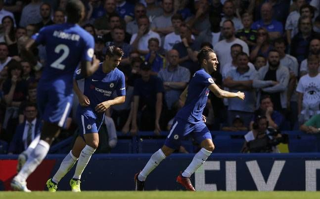 Premier League Cesc Fabregas Alvaro Morata lead Chelsea to 2-0 win over Everton - India Today #757Live