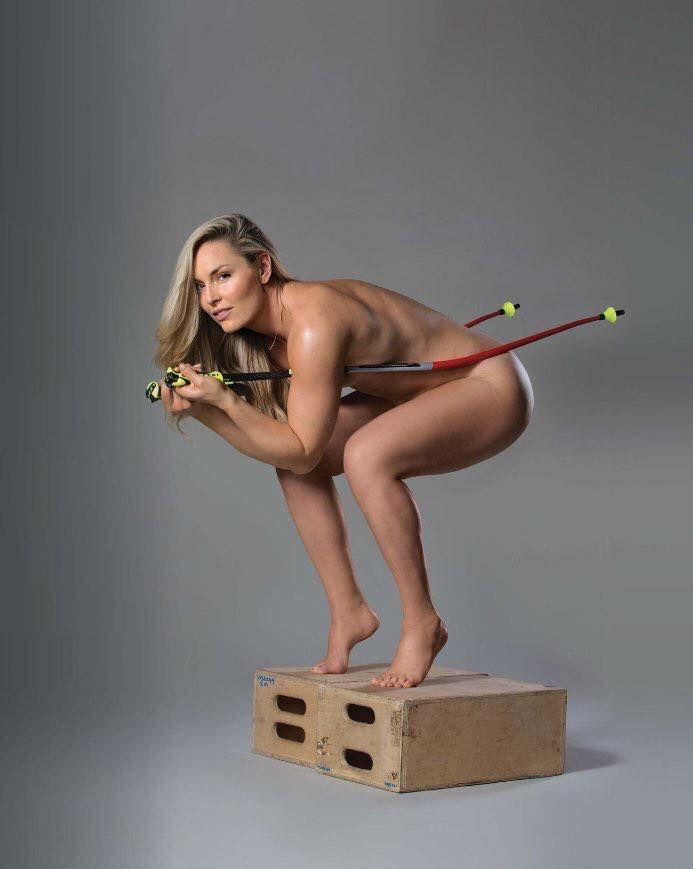 Линдси Вонн. Американка. Чемпионка по горным лыжам