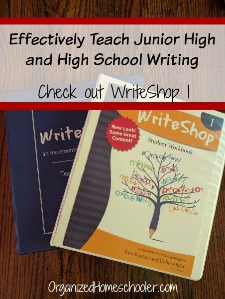 Using Writeshop I To Teach Middle School Writing The Best Of The