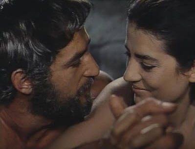 Bekim Fehmiu con Irene Papas