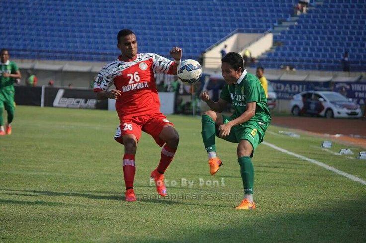 Risky Pora Piala President 2015 #MartapuraFC vs Surabaya United.