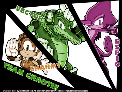 1000+ images about Team Chaotix on Pinterest | The ...