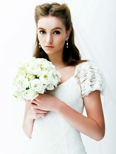 往年の大女優のよう♡オーセンティックな花嫁衣装にしたい♡カラードレス参照一覧♡