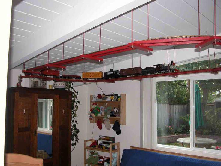 Ceiling Train Montana S Room Train Bedroom Model