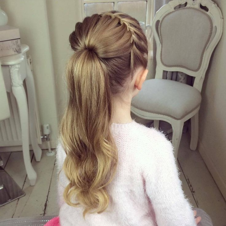 The Half Starburst Braid by SweetHearts Hair Design