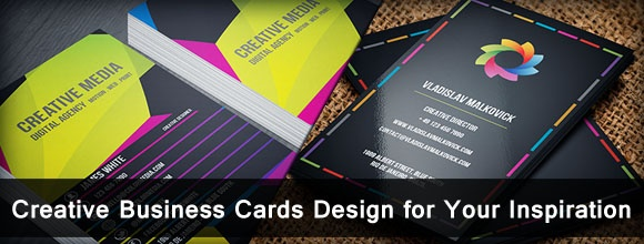 Creative Business Cards Design for Your Inspiration