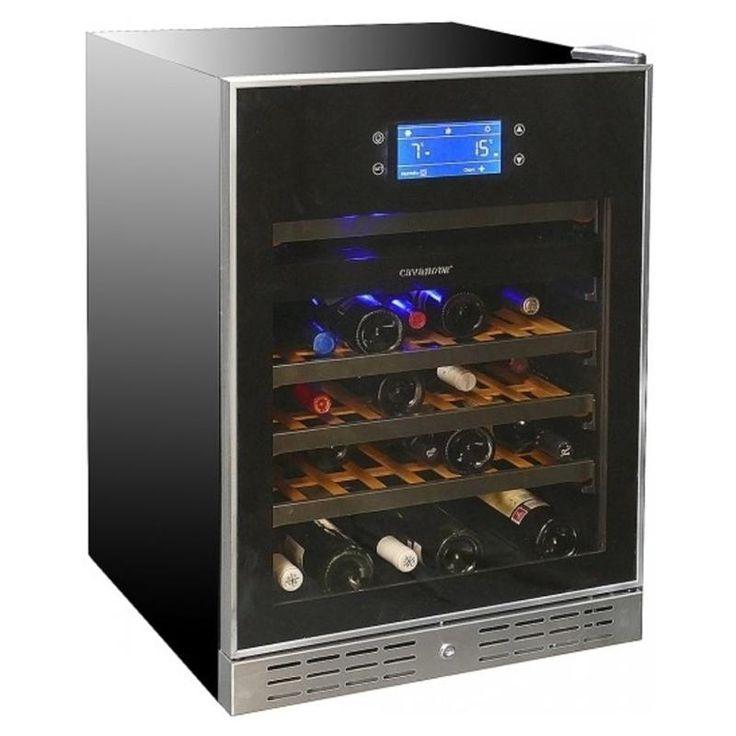 #винный #холодильник #Cavanova CV0046BE-C Цена  129 000 рублей  Винный шкаф Cavanova CV046BE-C имеет ряд особенностей, которые выделяют его на фоне винных шкафов других производителей  Купить  http://shop.webdiz.com.ua/goods/vinnyj-holodilnik-cavanova-cv0046be-c/
