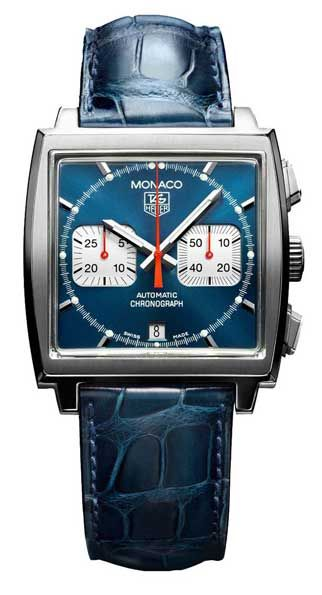 Tag Heuer Monaco Watch. As seen in the Steve McQueen movie, Le Mans. Timeless.