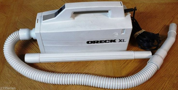 Oreck Xl Hand Held Canister Vacuum Cleaner Model Bb870 Aw