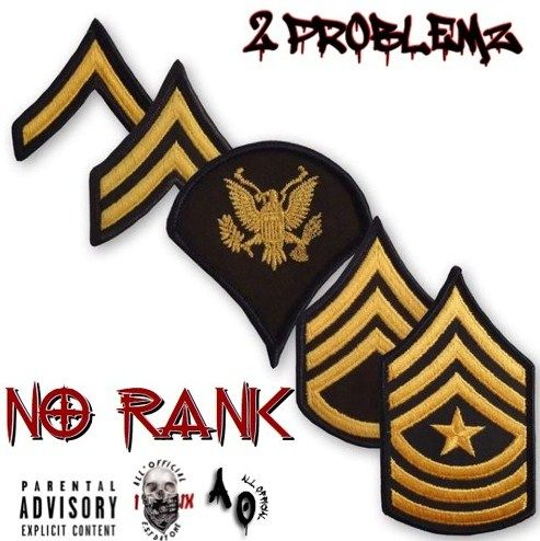 "Upcoming Singer 2PROBLEMZ Comes with his new Hip Hop hit  ""NO RANK""."