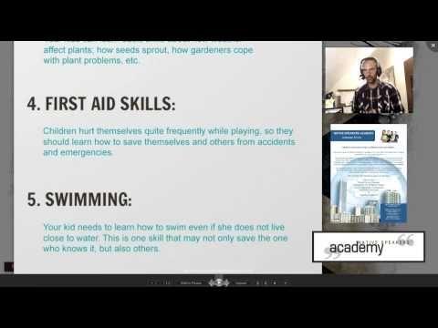 Useful Stuff - 006 - Life Skills Every Child Needs - YouTube