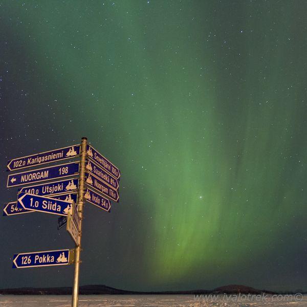 Auroras in Inari