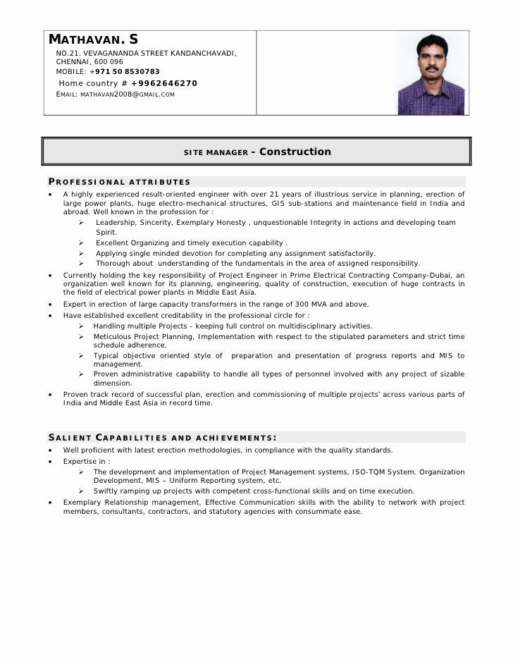 25 electrical engineer resume sample in 2020 with images