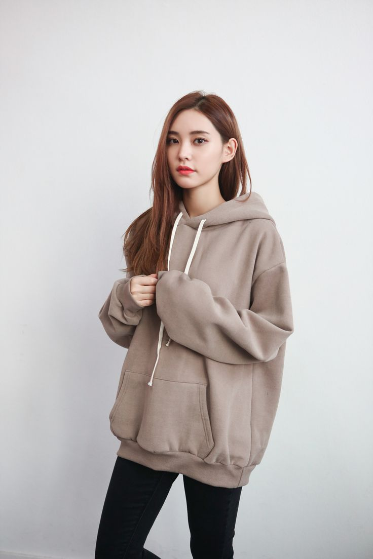 Korean style hoodie