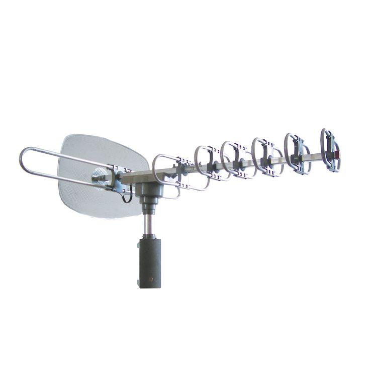 Supersonic 360º HDTV Digital Amplified TV Motorized Rotating Antenna